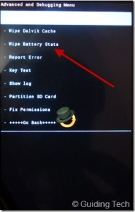 Android Battery Calibration 3