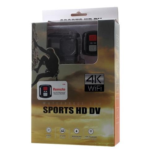 دوربین ورزشی ۴K وای فای ضدآب